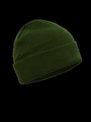 pletená čapica zelená