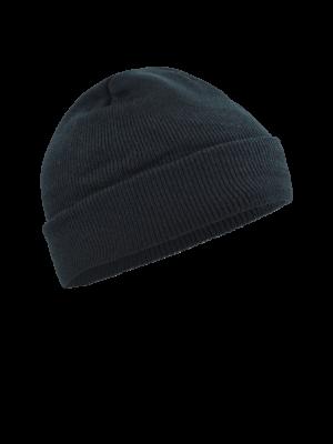 pletená čiapka čierna 1