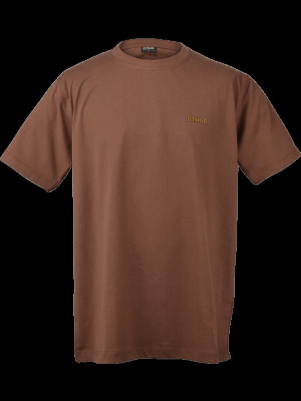 tričko Banner hnedé 1