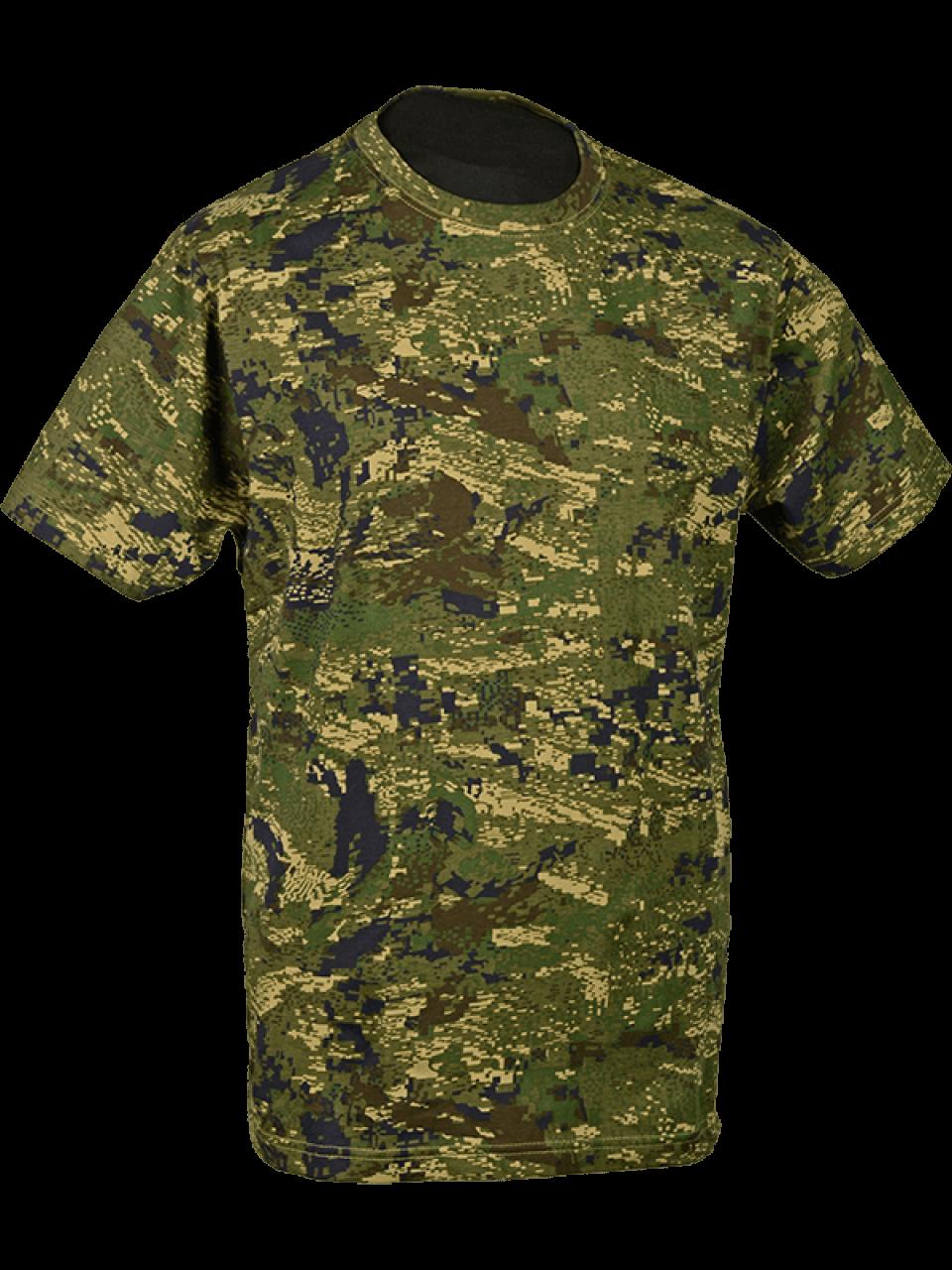 tričko Camo digital 1