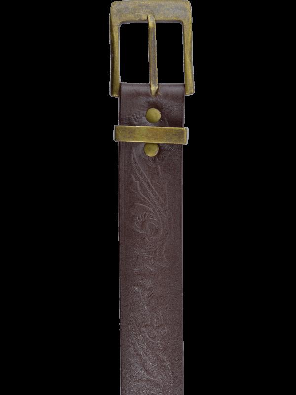 Kožený opasok Camp 4 KV detail