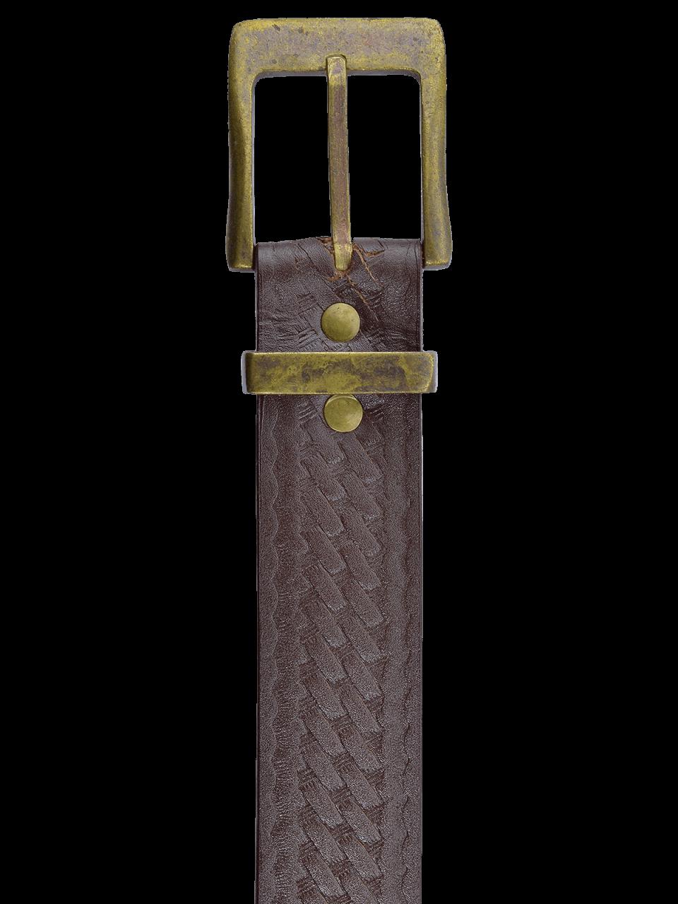 Kožený opasok Camp 4 PL detail
