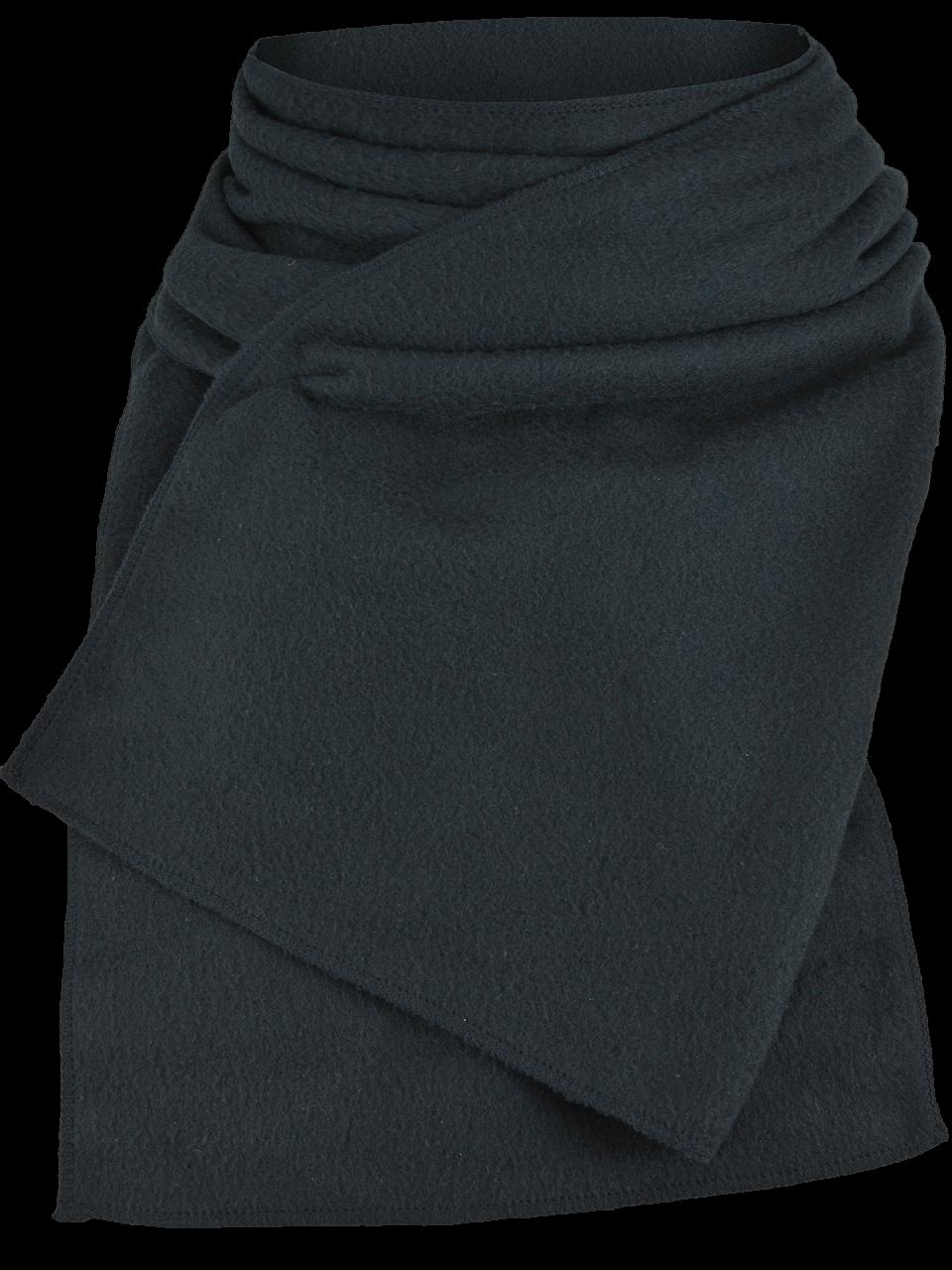 Outdoorové oblečenie šál čierny
