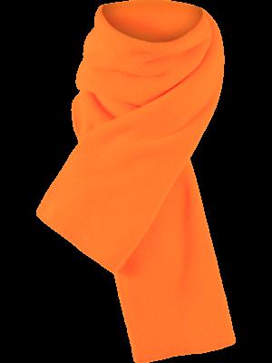 Outdoorové oblečenie šál oranžový
