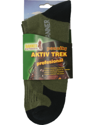 Ponožky Trek Aktiv profesional balenie