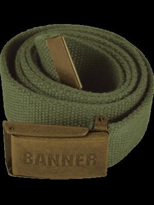 outdoor oblečenie opasok Banner zelený