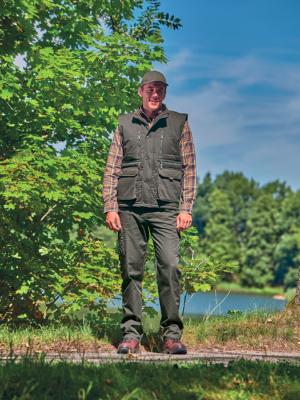 outdoorové oblečenie vesta Forest
