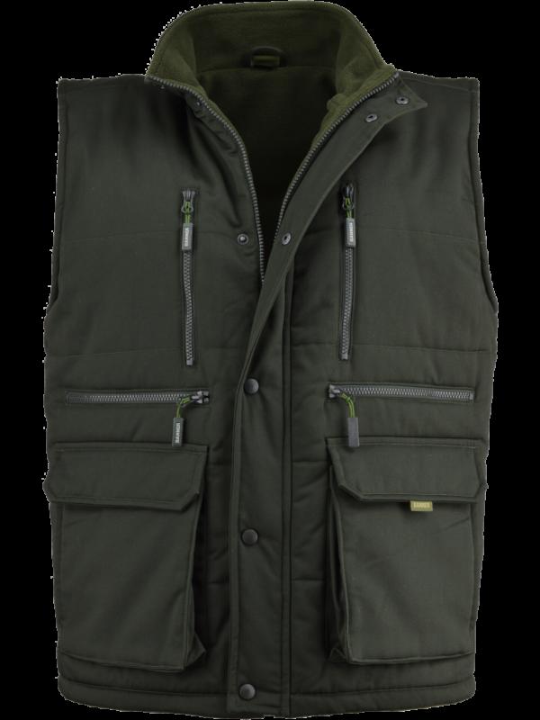 outdoorové oblečenie vesta Forest predný diel