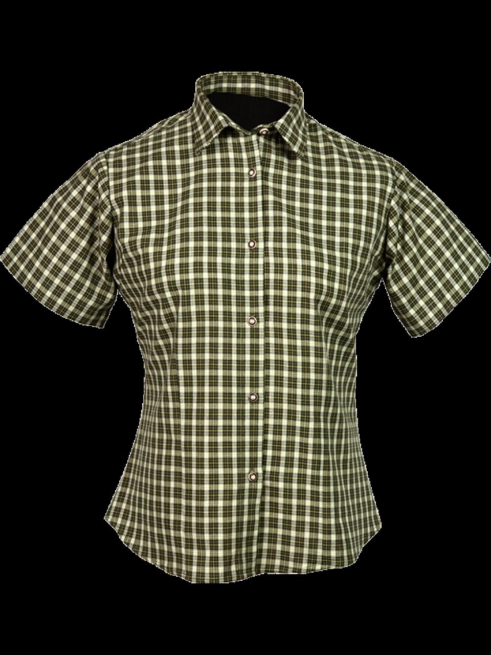 Outdoorové oblečenie dámska košeľa Norila krátky rukáv