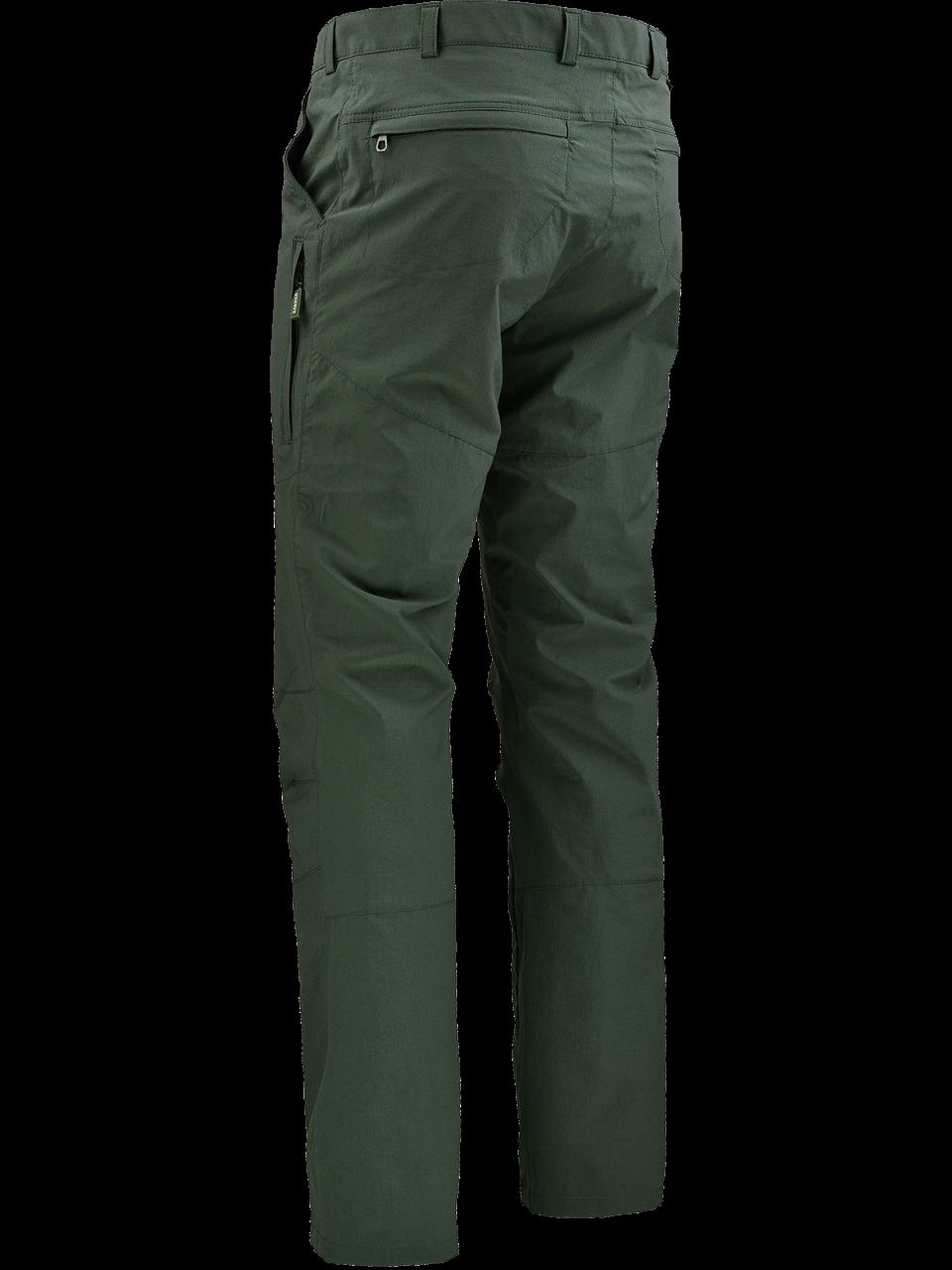 Outdoorové oblečenie letné nohavice Toran zo zadu