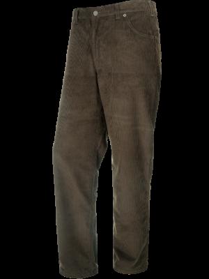 Outdoorové oblečenie menžestrové nohavice Texas Donal