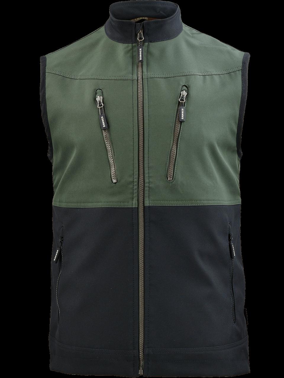 Outdoorové oblečenie vesta Kolaja pred