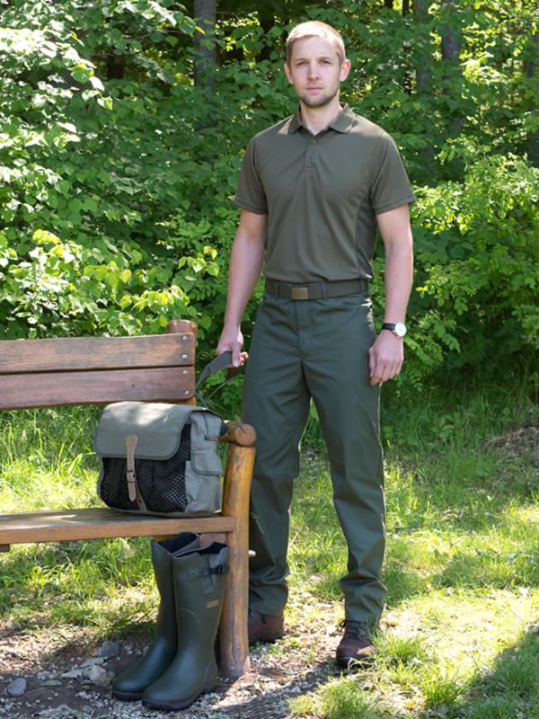 nohavice Texas Cheris zelené outdoorové oblečenie ext