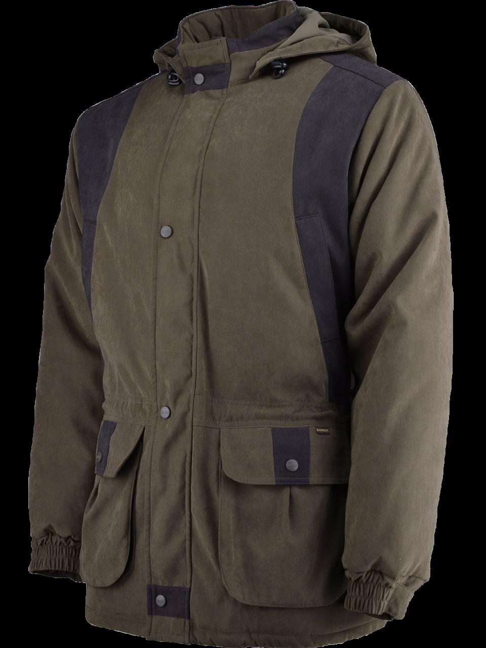 outdoorové oblečenie bunda Devon z boku