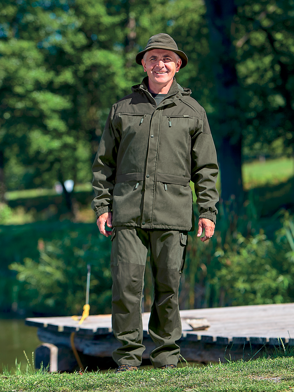 outdoorové oblečenie nohavice Traner ext