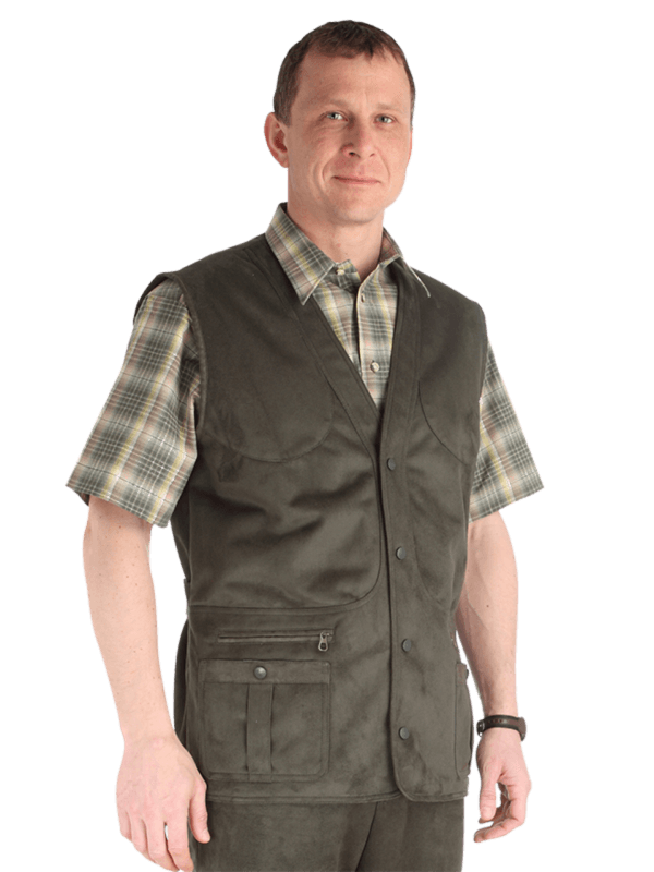 outdoorové oblečenie vesta Itaca detail
