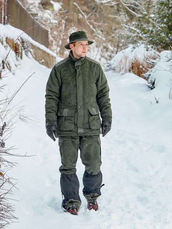 outdoorové oblečenie zateplená bunda Husky ext