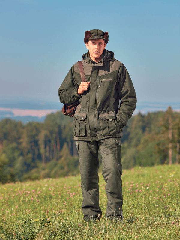 outdoorové oblečenie zimná bunda Castor ext