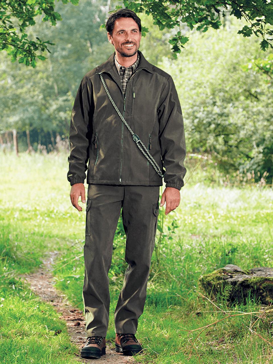 membránová bunda Ralon outdoorové oblečenie ext