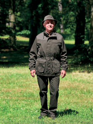 membránová bunda Traner outdoorové oblečenie ext