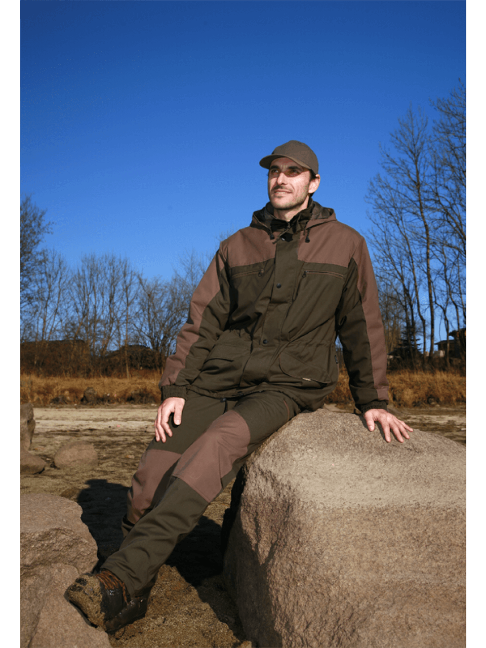 outdoorové nohavice Park outdoorové oblečenie ext