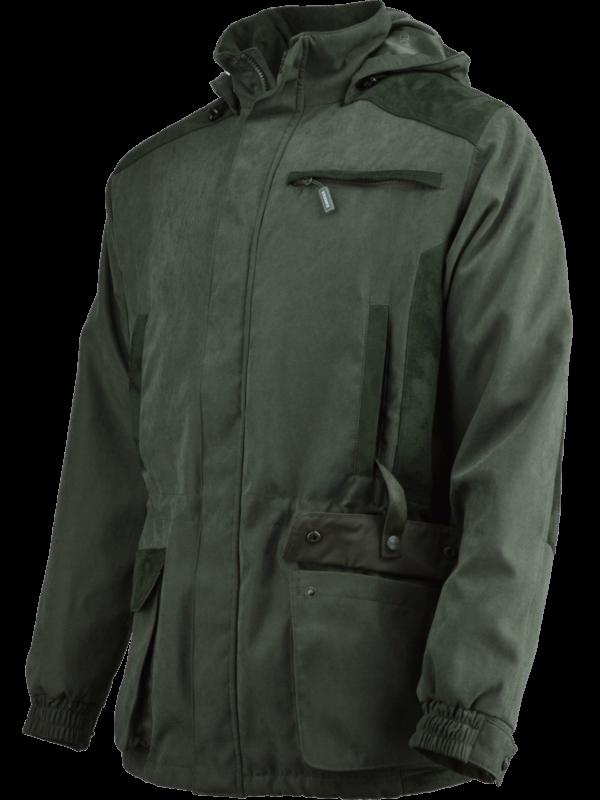 poľovnícka bunda Valzap outdoorové oblečenie bok