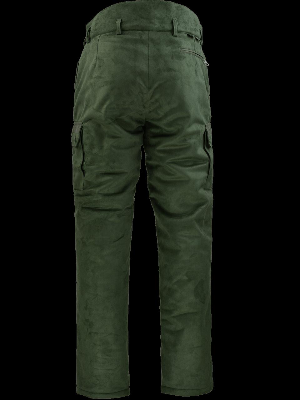 zateplené nohavice Castor outdoorové oblečenie zad